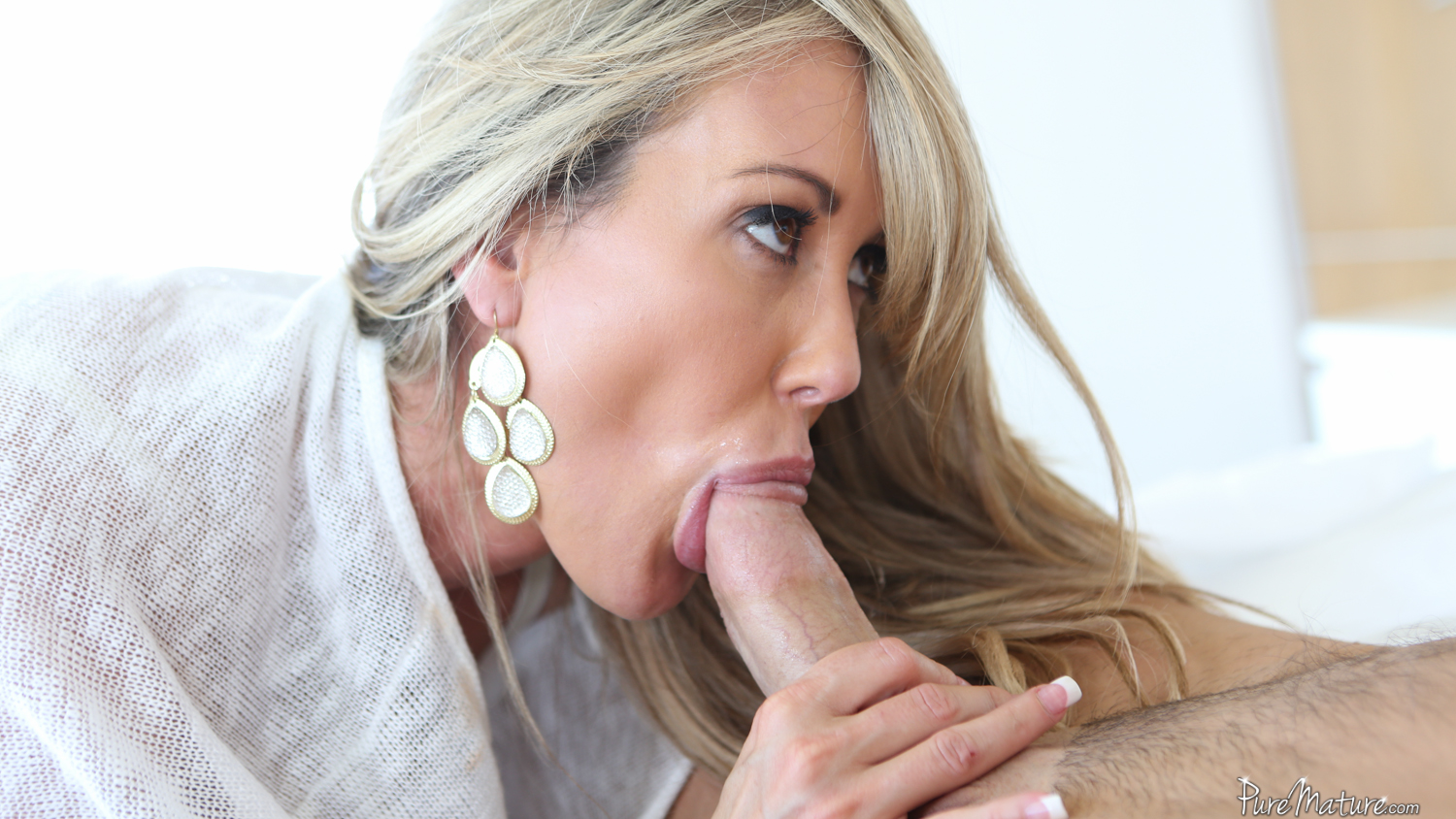 Puremature mature busty brandi love rides hard dick